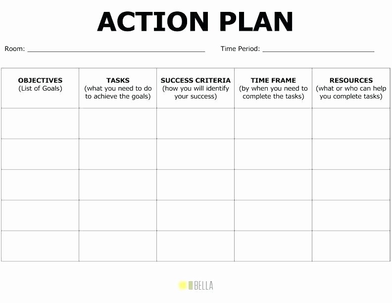 Employee Engagement Action Plan Template Lovely Employee Action Plan Template Free Corrective Plate Team