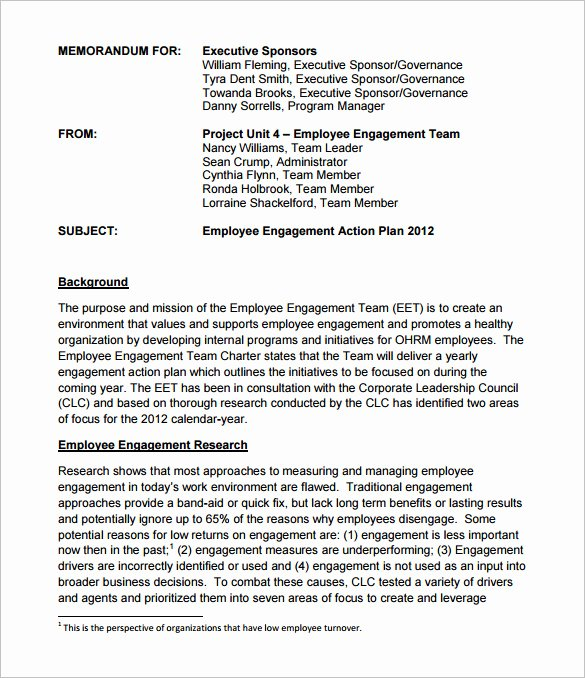 Employee Engagement Plan Template Fresh 25 Plan Template Word Excel Pdf