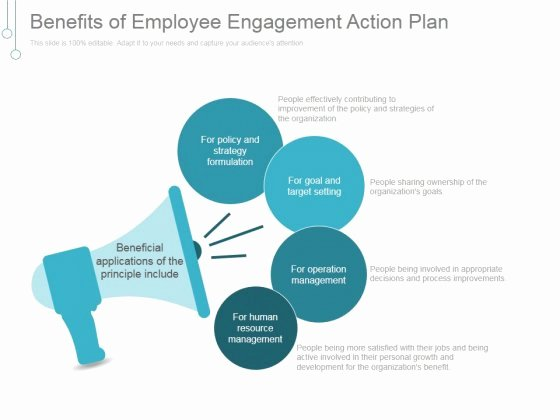Employee Engagement Plan Template Fresh Employee Engagement Action Plan Ppt