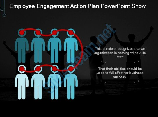 Employee Engagement Plan Template Unique Employee Engagement Action Plan Powerpoint Show