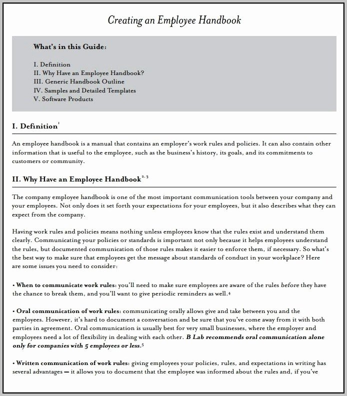 Employee Handbook Design Template Awesome Veterinary Employee Handbook Template Template Resume