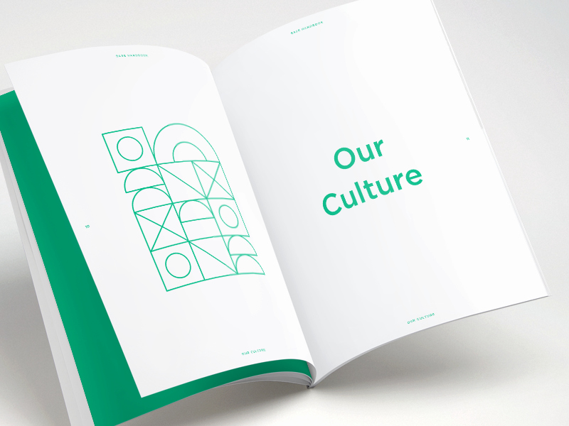 Employee Handbook Design Template Best Of Base Employee Handbook by Kim Le Dribbble