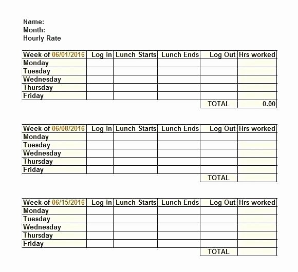 Employee Lunch Schedule Template Awesome Lunch Break Schedule Template Employee Lunch Schedule