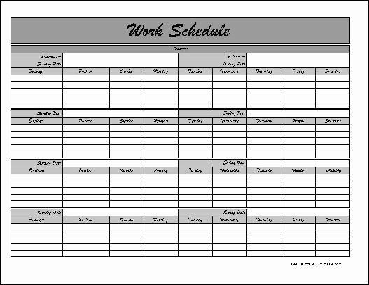 Employee Lunch Schedule Template Fresh Employee Lunch Schedule Template Templates Resume