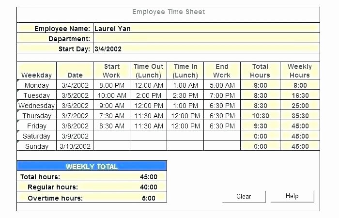Employee Lunch Schedule Template New Lunch Break Schedule Template Employee Calculator