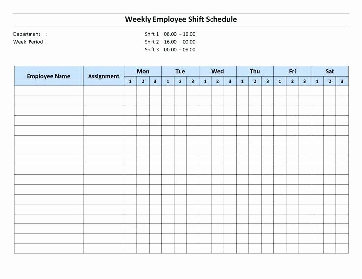 Employee Monthly Schedule Template Unique Employee Work Schedule Template – Jewishhistoryfo
