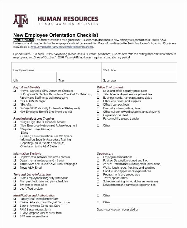 Employee Onboarding Checklist Template Beautiful Boarding Procedure Template Sample Plan Templates