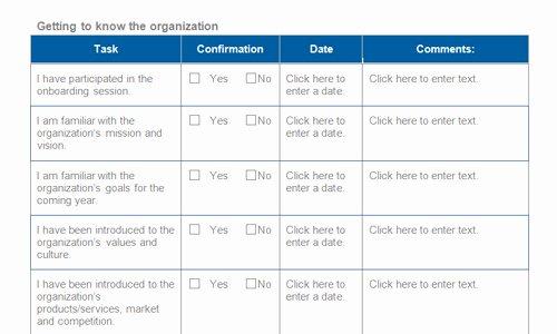 Employee Onboarding Checklist Template Beautiful Boarding Schedule Template