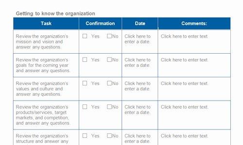 Employee Onboarding Checklist Template New Best Practice Onboarding Checklists