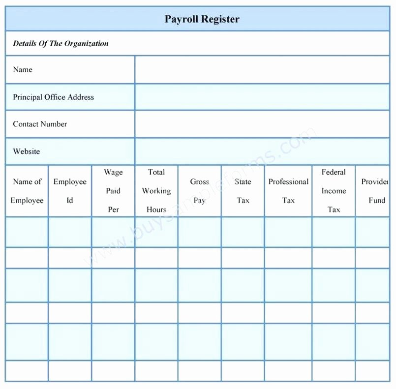 Employee Payroll Ledger Template Luxury Employee Payroll forms Template – Azserverfo