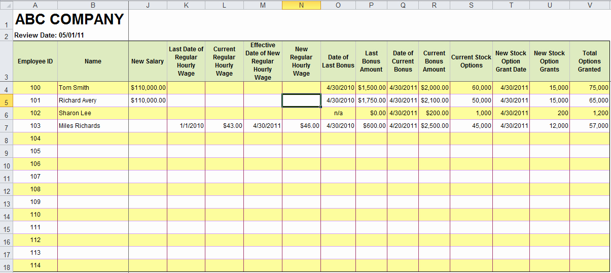 Employee Performance Tracking Template Awesome Free Excel Templates for Payroll Sales Mission