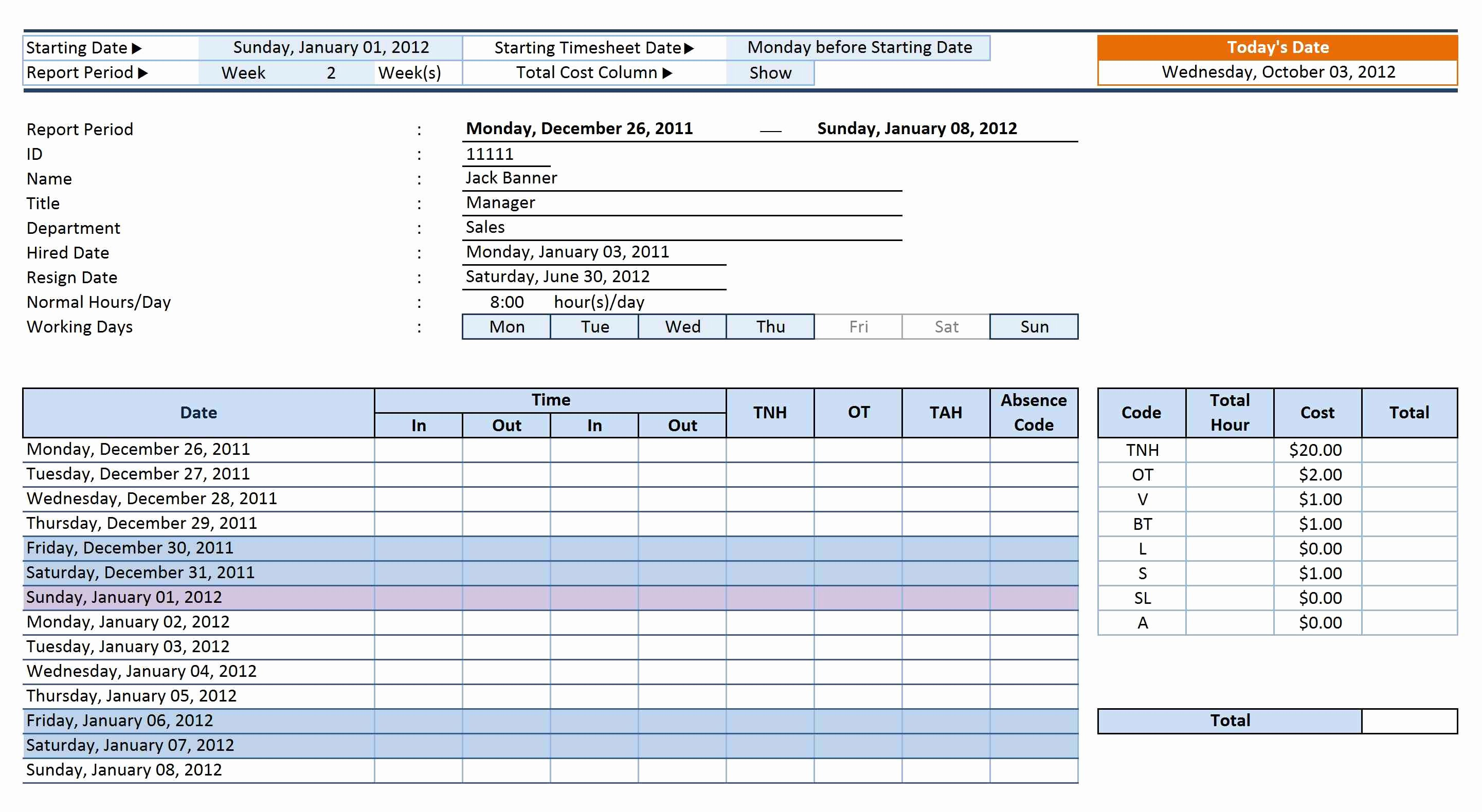 Employee Performance Tracking Template Excel Elegant 12 Employee Tracking Templates Excel Pdf formats
