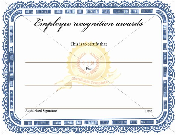 Employee Recognition Award Template Awesome 6 Award Templates Doc Pdf