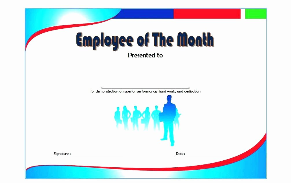 Employee Recognition Award Template Elegant Sample Certificates Appreciation Template Employee