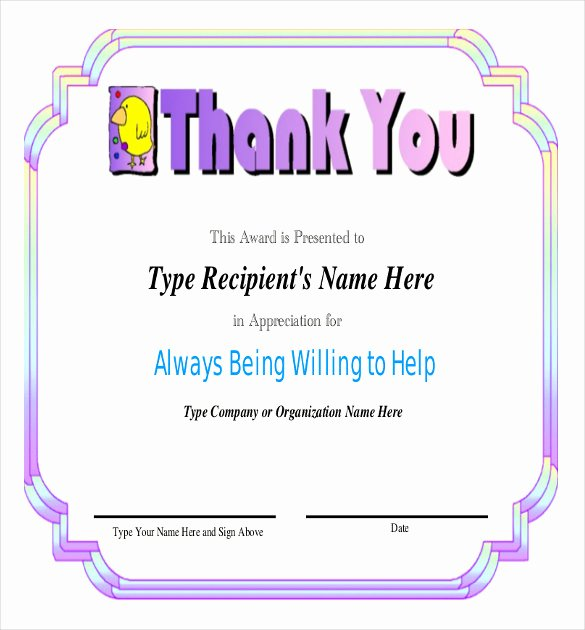 Employee Recognition Award Template Lovely Employee Recognition Awards Template 9 Free Word Pdf