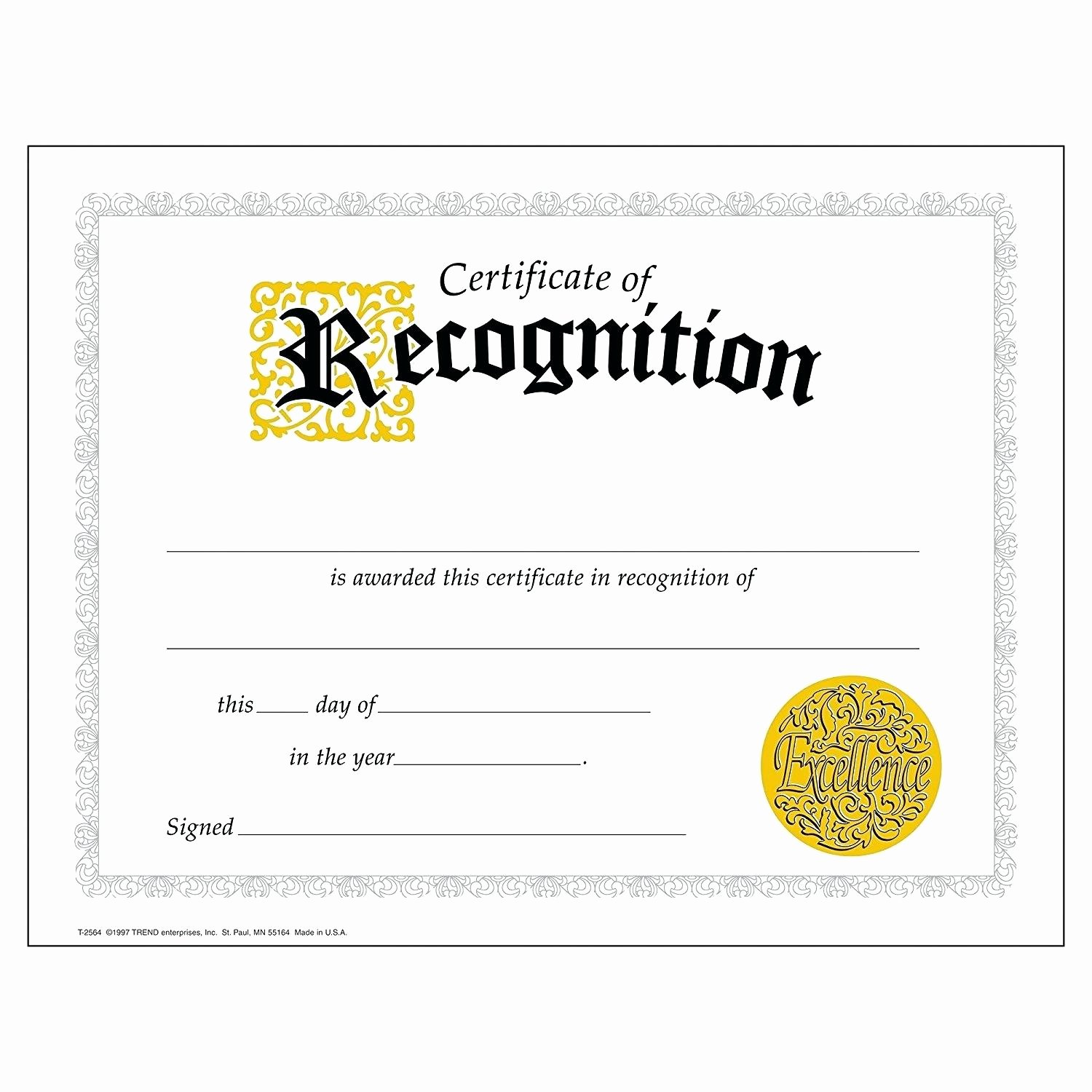 Employee Recognition Award Template Lovely Template Employee Recognition Award Template