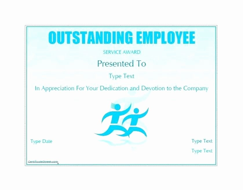Employee Recognition Award Template Unique Employee Recognition Certificates Free Download Printable