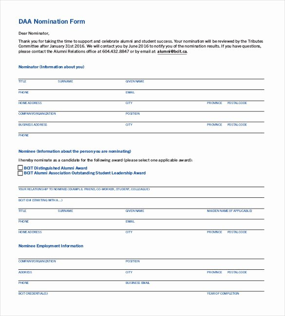 Employee Recognition form Template Beautiful Employee Recognition form Template Alfonsovacca