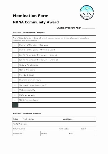 Employee Recognition form Template Elegant Employee Recognition form Template – Versatolelive