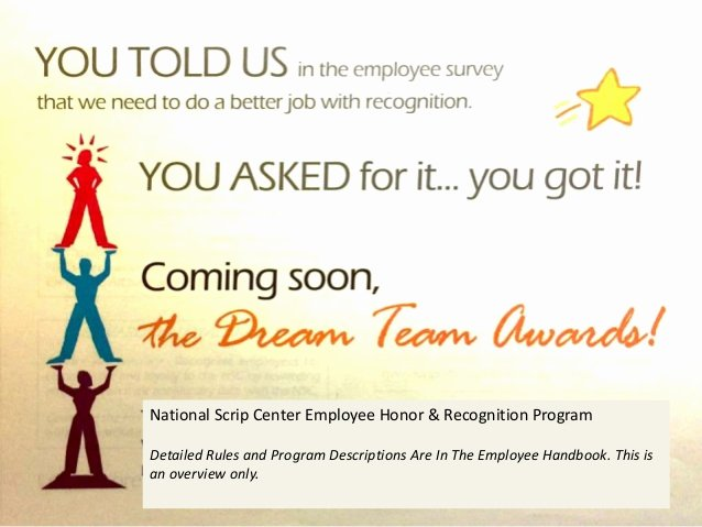Employee Recognition Program Template Beautiful Nsc Employee Reward & Recognition Programs Overview