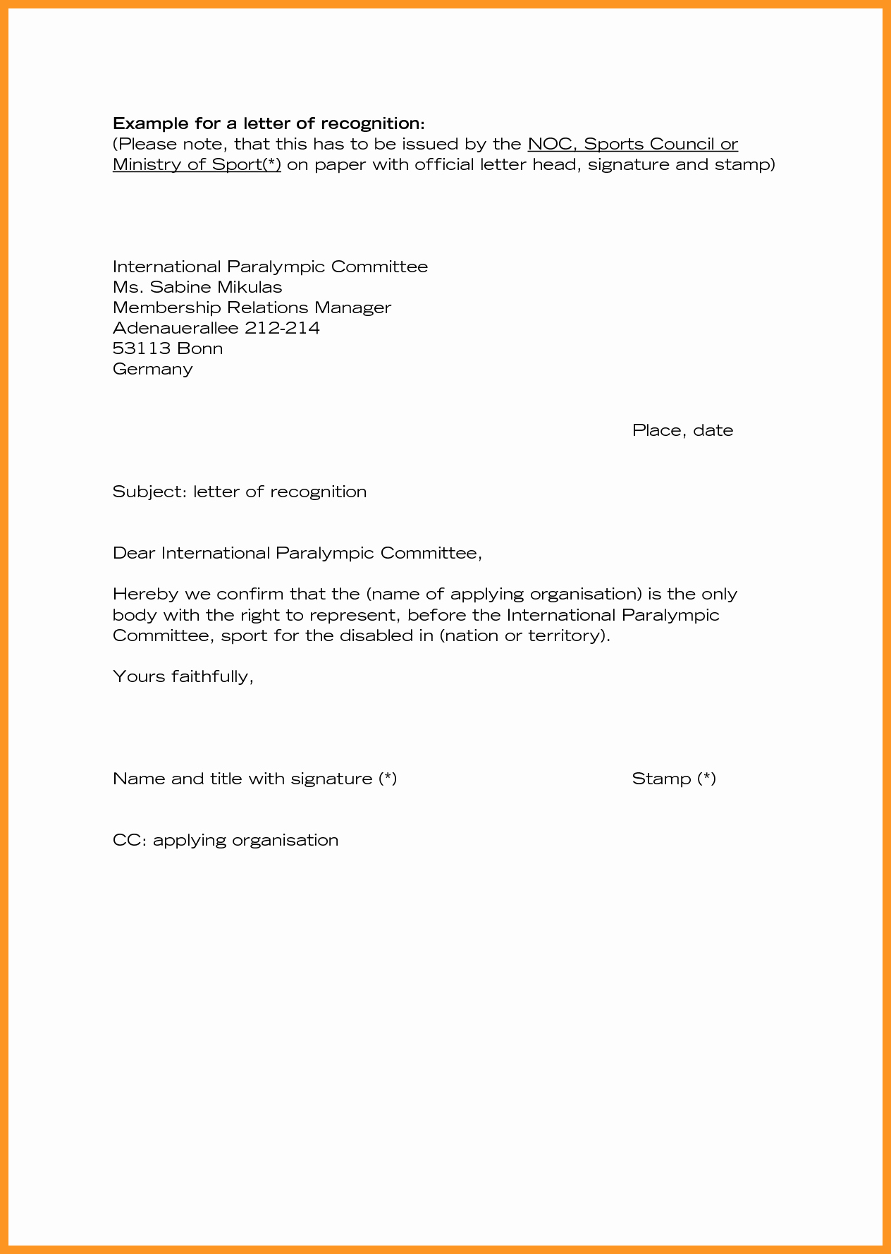 Employee Recognition Program Template Best Of Luxury Farewell Letter to Employees
