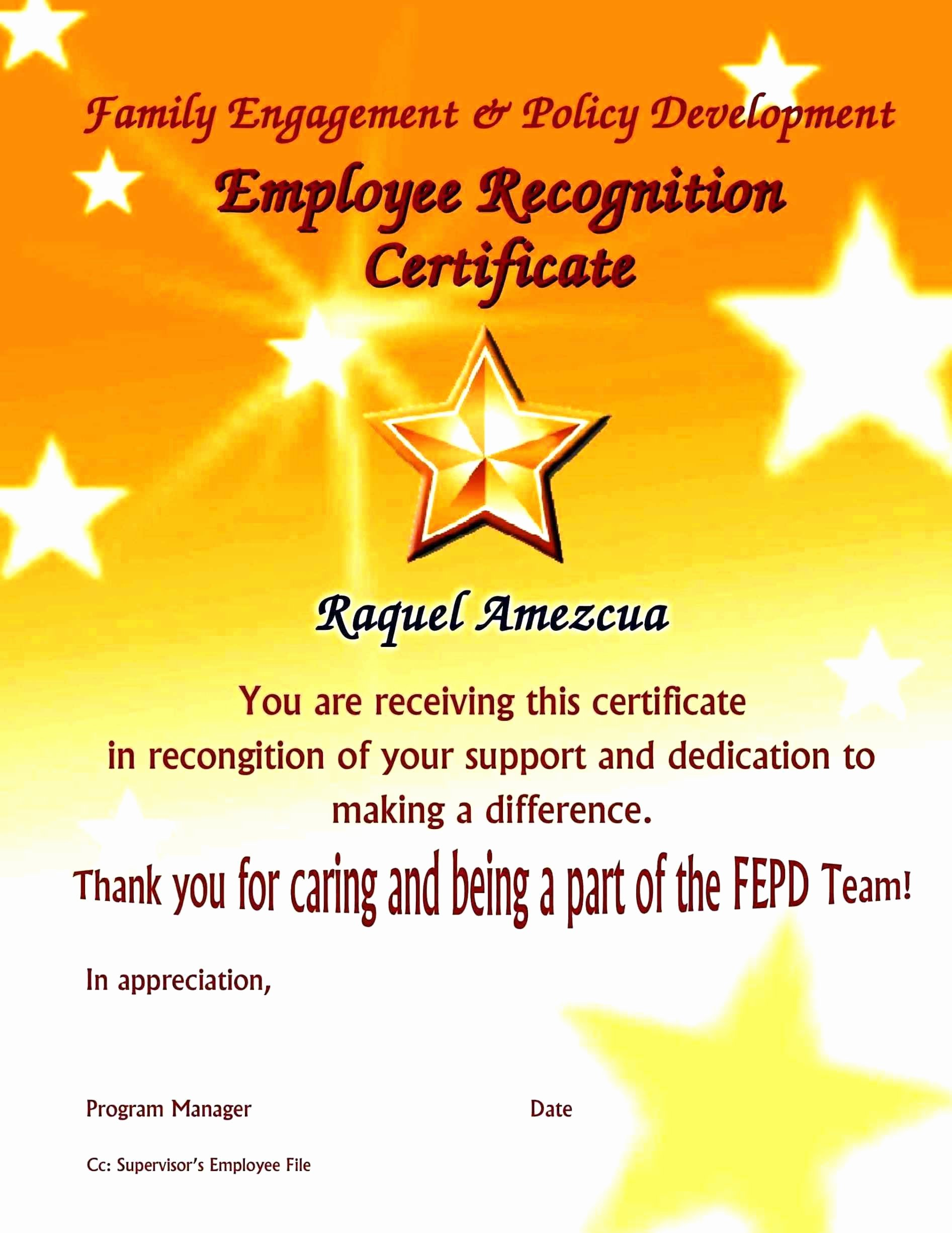 Employee Recognition Program Template Luxury Template Employee Recognition Program Template