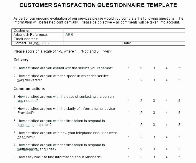 Employee Satisfaction Survey Template Word Beautiful Word Survey Template Primary 4 Cooperative Quintessence