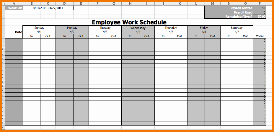 Employee Schedule Calendar Template Luxury Calendar Employee Schedule Template