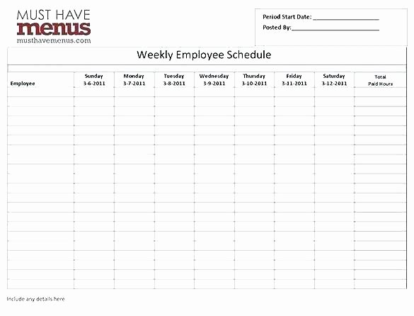 Employee Schedule Template Word Inspirational Employee Training Calendar Template Excel Schedule
