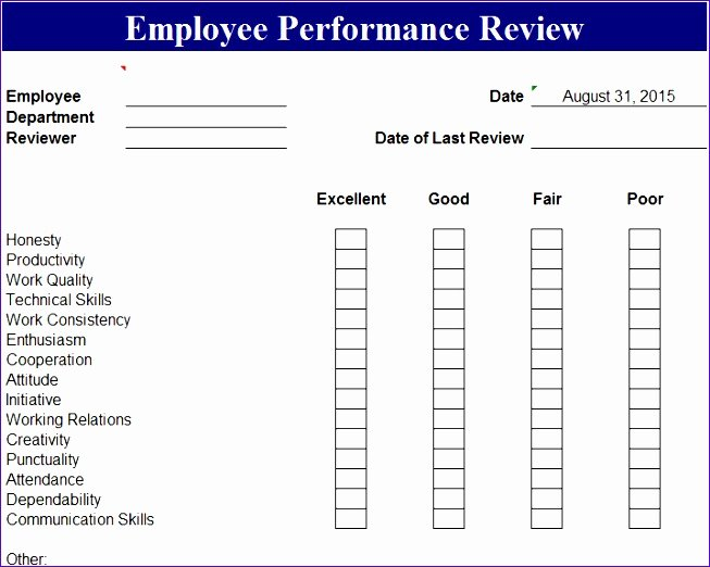 Employee Scorecard Template Excel Lovely 5 Employee Performance Scorecard Template Excel