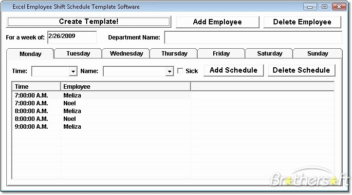 Employee Shift Schedule Template Excel Beautiful Download Free Excel Employee Shift Schedule Template