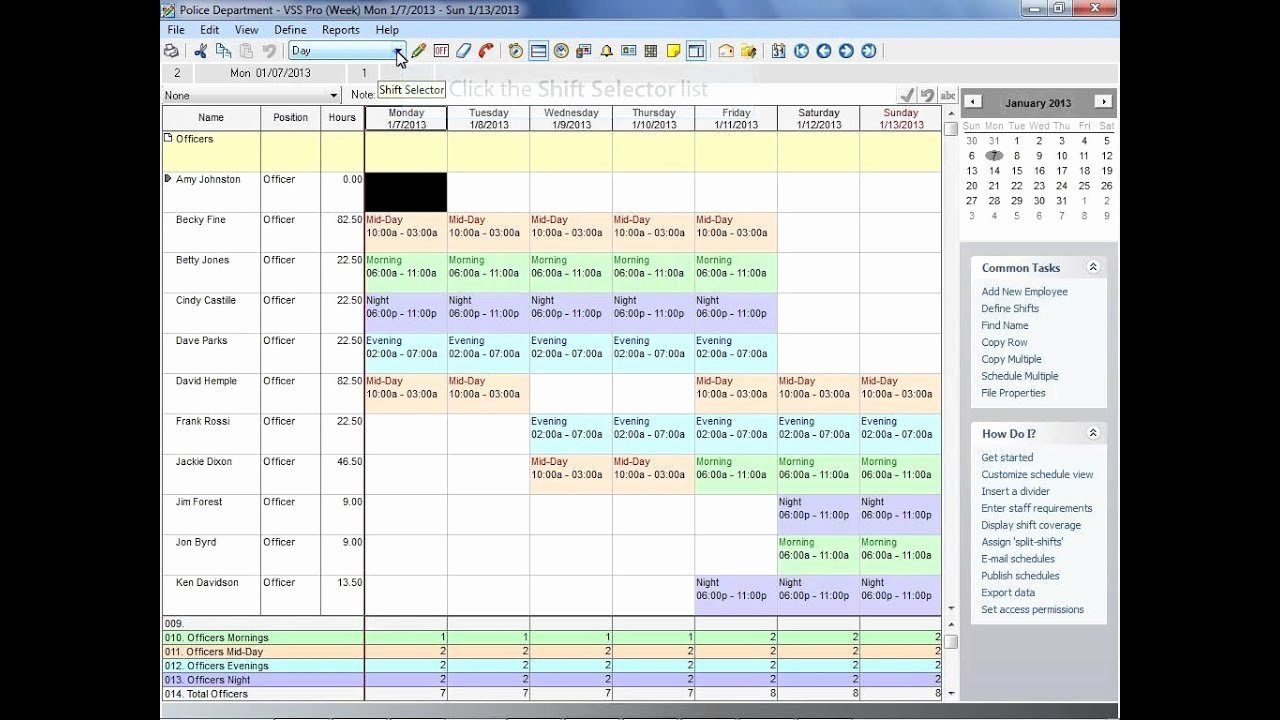 Employee Shift Schedule Template Excel Beautiful How to Make A Staff Schedule In Excel Better Online