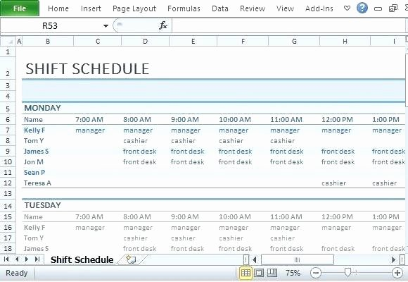 Employee Shift Scheduling Template Best Of Shift Planner Excel Excel Scheduling Excel Scheduling Work