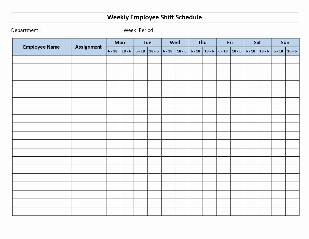 Employee Shift Scheduling Template Inspirational Employee Shift Schedule Template Example Of Spreadshee