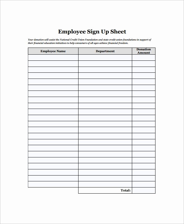 Employee Sign In Sheet Template Beautiful 16 Employee Sign In Sheets