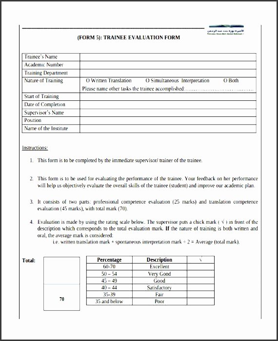 Employee Skills assessment Template Awesome 7 Employee Skills assessment Template Sampletemplatess