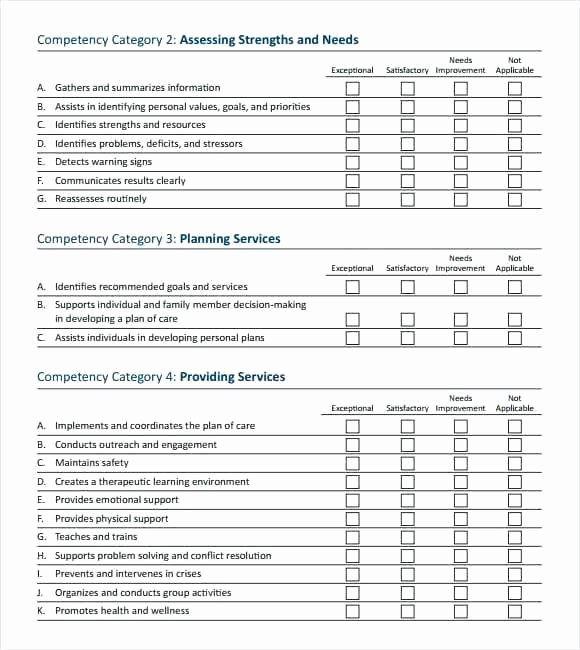 Employee Skills assessment Template Awesome Employee Skills assessment Template – Weinerdogfo