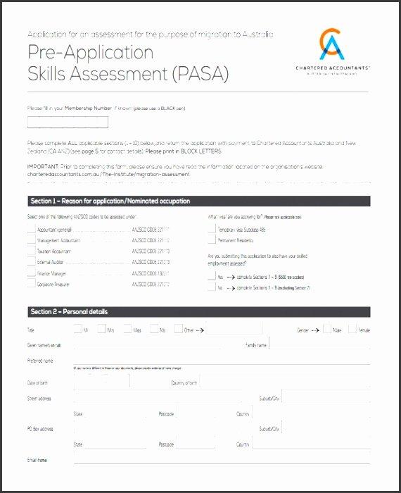 Employee Skills assessment Template Elegant 7 Employee Skills assessment Template Sampletemplatess