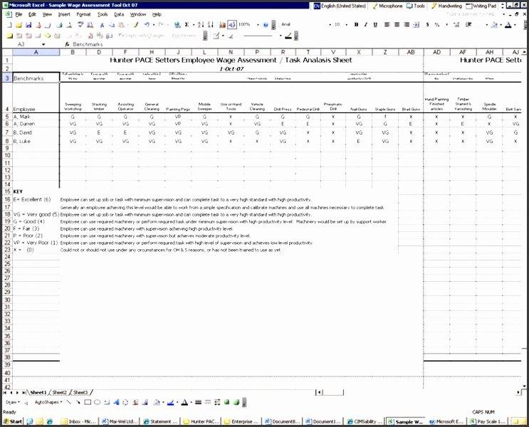 Employee Skills assessment Template Elegant Employee Skills assessment Template Sampletemplatess