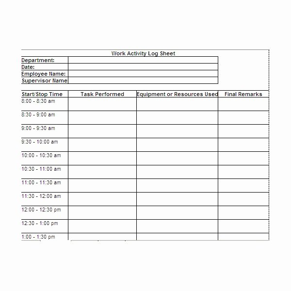 Employee Task List Template Beautiful Daily Task Sheet for Employee