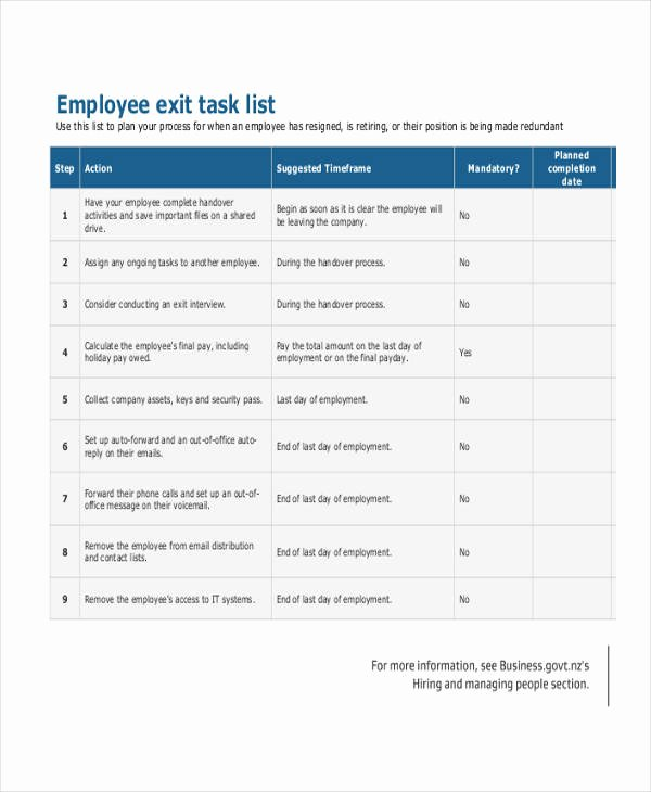 Employee Task List Template Luxury 9 Employee List Samples – Free Sample Example format