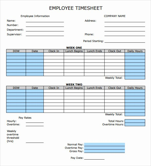 Employee Time Card Template Awesome How to Make Timesheet Calculator Excel Excel Timesheet