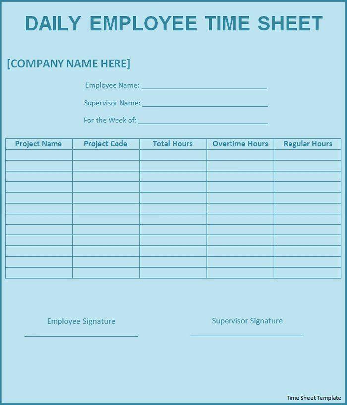 Employee Time Card Template Fresh 60 Sample Timesheet Templates Pdf Doc Excel