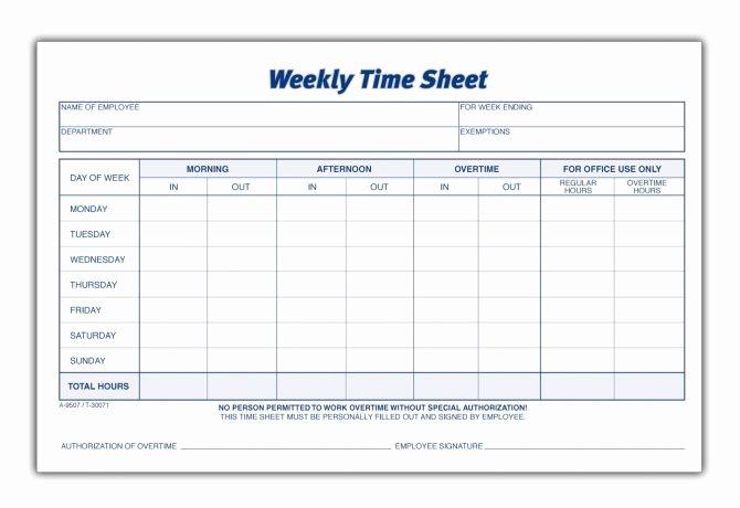 Employee Time Cards Template Fresh Weekly Timesheet Spreadsheet