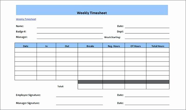 Employee Time Cards Template Inspirational Payroll Template Secure for Multiple Employees G Word Bi