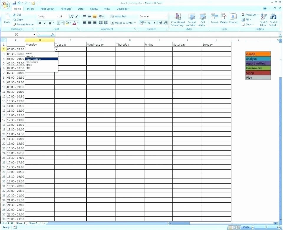 Employee Time Tracking Template Unique Vacation Tracking Spreadsheet Free Templates Template