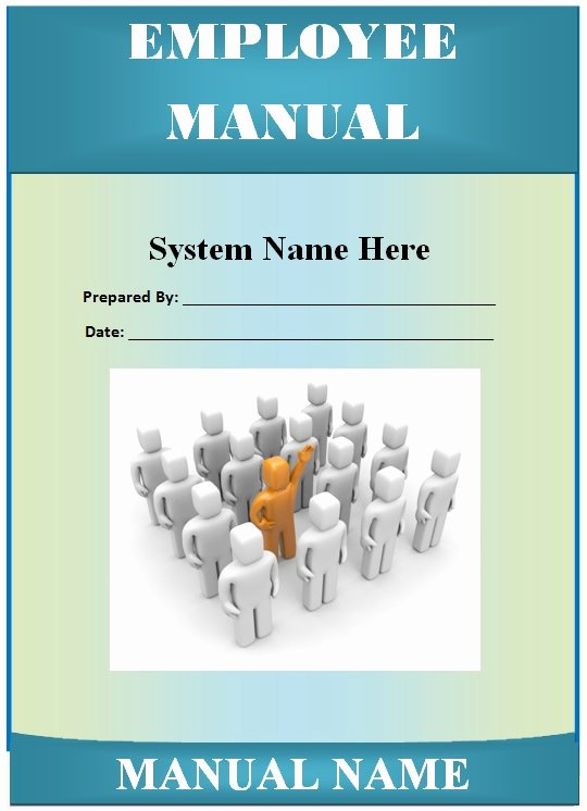 Employee Training Manual Template Lovely Employee Manual Template Guide Help Steps