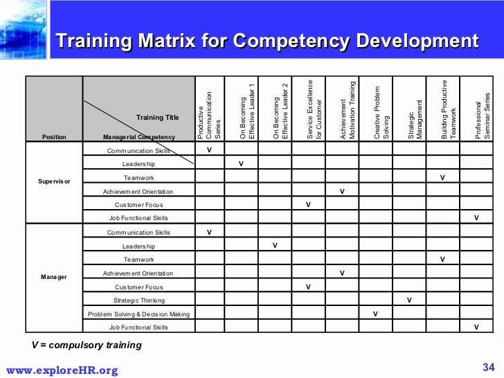 Employee Training Matrix Template Excel Awesome Download Employee Training Plan Template Excel