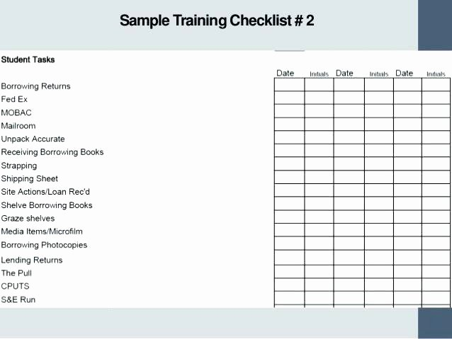 Employee Training Plan Template Awesome Sample Training Plan Template – Skincense