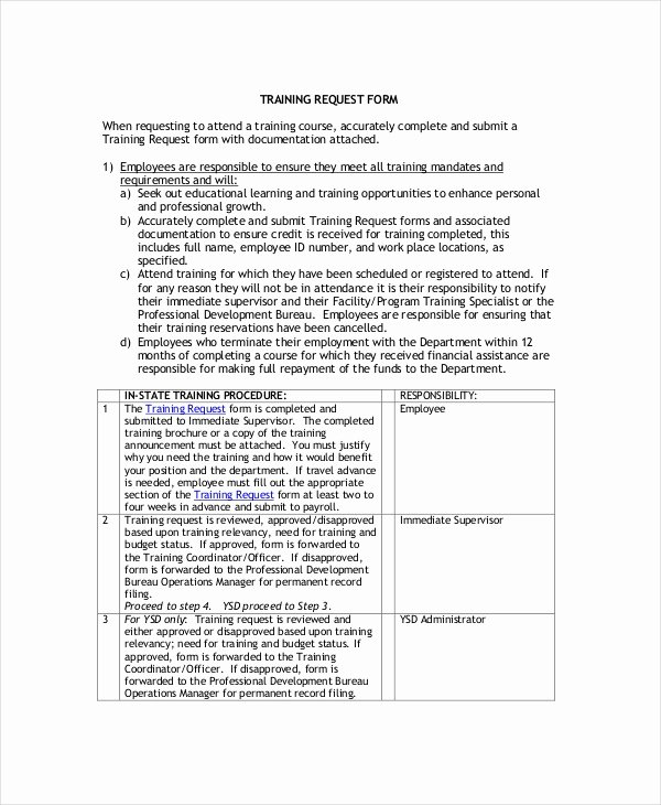 Employee Training Program Template Awesome Training Plan 13 Free Pdf Word Documents Download